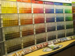 how a paint company lures you in with their color wheel display