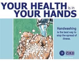 printable poster for hand washing handwashing with a nail brush minnesota dept of health