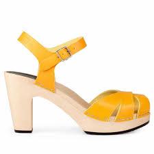 swedish hasbeens suzanne warm yellow
