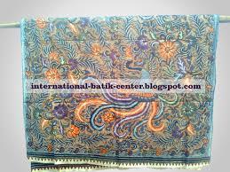 merak biru international batik center jarik batik