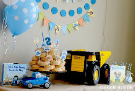 truck birthday party blue truck birthday party the style file