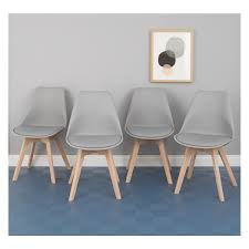 Dining Chairs Grey Jerry Set Of 4 Grey Dining Chairs Buy Now At Habitat Uk