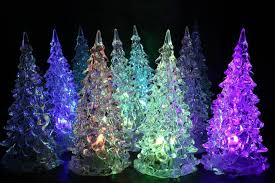 christmas decorations crystal new year christmas tree night lamp