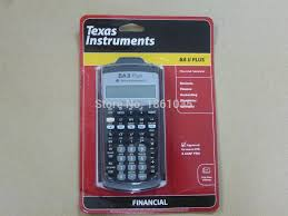 calculatrice graphique bureau en gros acheter brand instruments ba ii plus calculatrice