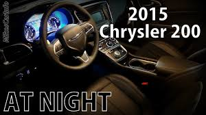 2015 chrysler 200 at night youtube
