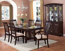 photo of dining room table sets with bench