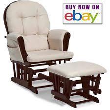 Rocking Chair Glider For Nursery Nursery Rocking Chair Ottoman Set Baby Furniture Nursing Glider