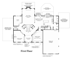 Center Hall Colonial Floor Plans Mountain View At Hunterdon The Stansbury Home Design