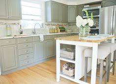Rustoleum Kitchen Cabinet Transformation Kit Rust Oleum Cabinet Transformations Seaside On Bottom And White On