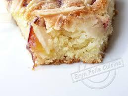 eryn folle cuisine gâteau fin amande nectarine eryn et sa folle cuisine