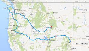 Roseburg Oregon Map by Both Sides Of The Tracks U2013 Introducing Our Cross Country Road Trip