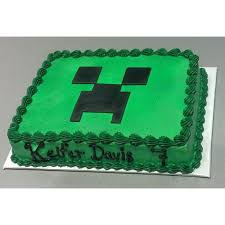 mindcraft cakes minecraft cool cakes 1kg