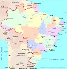 Maps South America by South America Maps