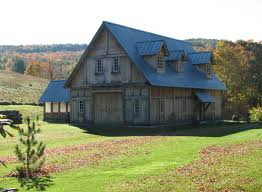 Barn Roof by Rheinzink Roof Helps Replicate 16th Century Look And Feel For New