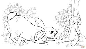 velveteen rabbit coloring pages coloring