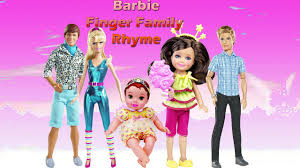 barbie princess charm cartoon finger family rhyme barbie
