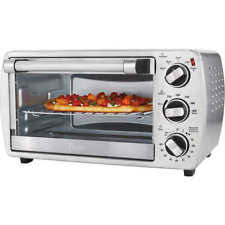 Oster 6 Slice Digital Toaster Oven Oster 6 Slice Convection Countertop Oven Brushed Stainless Steel