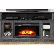 Amazon Fireplace Tv Stand by Amazon Com Barston Laminated Wood Fireplace Dark Rustic Brown Tv