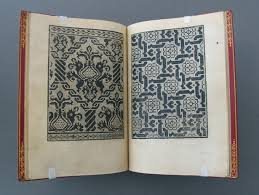 early modern needlework pattern lace books