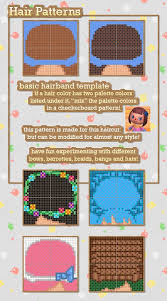 acnl hair guide best 25 new leaf hair guide ideas on pinterest acnl hair guide
