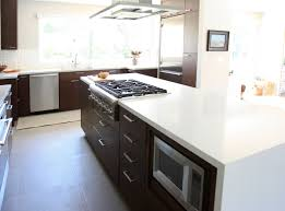 kitchen island with cooktop and seating a central island with cooktop miacir