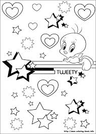 free tweety bird coloring pages print 12490