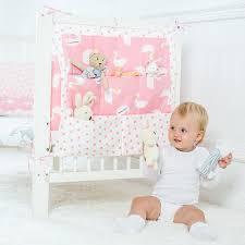 Muslin Crib Bedding Promotion Muslin Tree Brand Baby Cot Bed Hanging Storage Bag