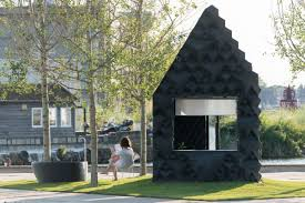3d printed sustainable micro cabin is available to rent in