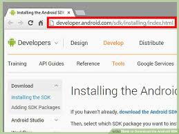developer android sdk index html how to the android sdk 3 steps with pictures wikihow