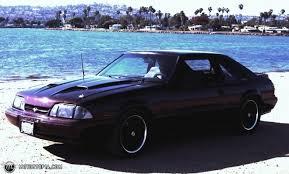black cherry mustang 1993 ford mustang lx h o id 15128