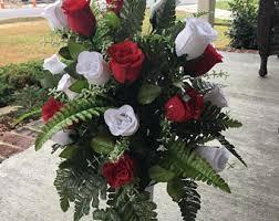 Graveside Flower Vases Headstone Vase Etsy