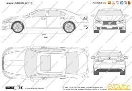 lexus car logo vector the blueprints com vector drawing lexus ls600hl
