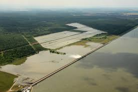 morganza spillway opens in louisiana natural hazards