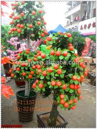mini artificial apple tree indoor decoration apple