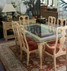 exclusive thomasville dining table in pretty decoration