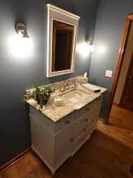 Recessed Bathroom Vanity by Oak Trim Bath Design Ideas Pictures Remodel U0026 Decor With