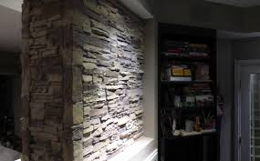 awesome stacked stone fireplaces kitchen and stacked stone