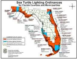 Bonita Springs Florida Map by Beachfront Lighting How You Can Help U2013 Sea Turtle Conservancy