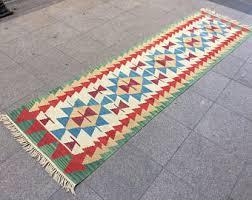 tribal rug runner etsy