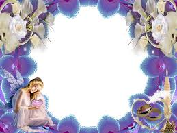 angel backgrounds for powerpoint border and frame ppt templates 4948