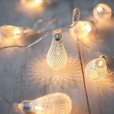 5m 10m led string fairy lights outdoor christmas ball lights iron