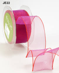 wired ribbon 1 5 inch purple sheer iridescent wired ribbon buy ribbons online
