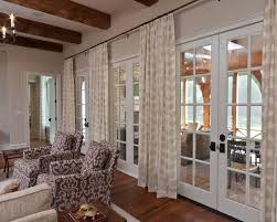 Hanging Curtains High 64 Best French Doors Avec Rideaux Images On Pinterest Curtains