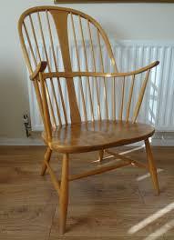 Ercol Windsor Rocking Chair Antiques Atlas Retro Ercol Chair