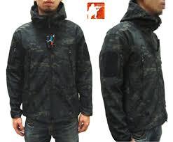 multicam black waterproof softshell tactical jacket tad sharkskin