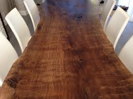Natural Slab Dining Table Live Edge Table Live Edge Dining Table Walnut Dining Table