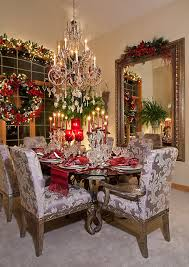 dining room christmas decor christmas decor mediterranean dining room chicago by