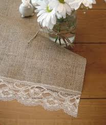 table runner or placemats burlap and lace table runner or placemats for the home pinterest