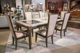 Aico Furniture Dining Room Sets Sale 3823 00 Valise Dining Set By Michael Amini Dining Sets