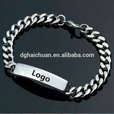 man chain bracelet images Logo man cable chain stainless steel heavy mens bracelet cube jpg